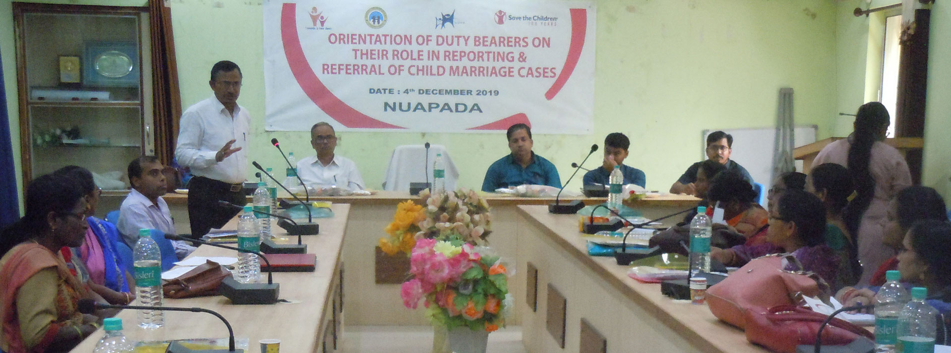District workshop on Ban of Child Marriage
